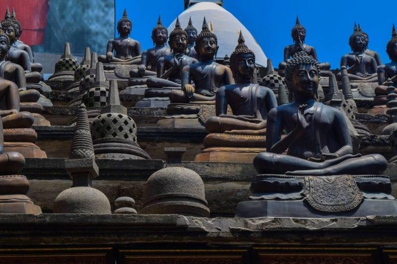 Gangaramaya Buddhist temple, Sri Lanka