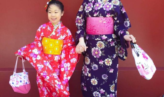 2016 Travel Highlights: Tokyo ladies in kimonos
