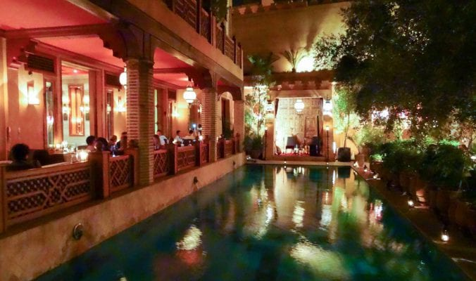 Where to eat in Marrakech: La Maison Arabe