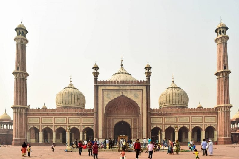 Jama Masjid, New Delhi in India's Golden Triangle