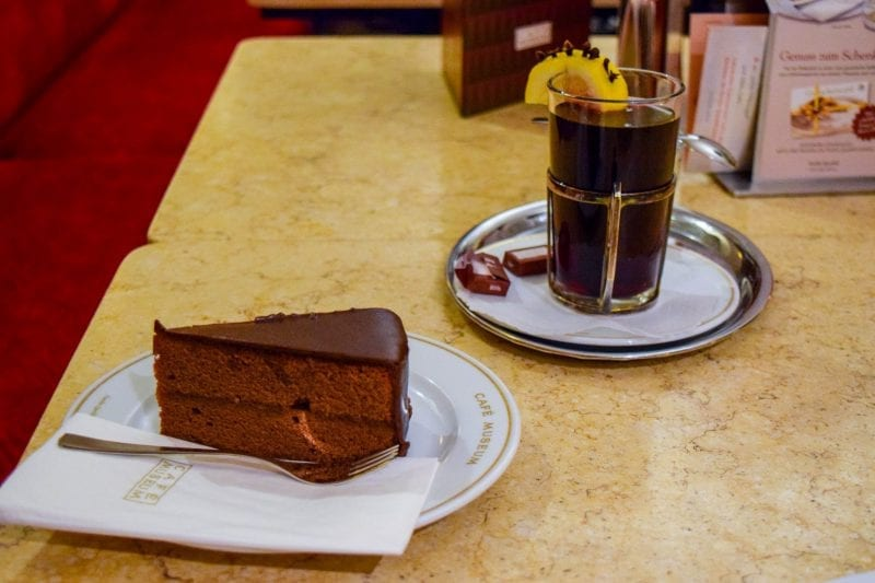 Where to eat in Vienna as a vegetarian: Cafe Museum