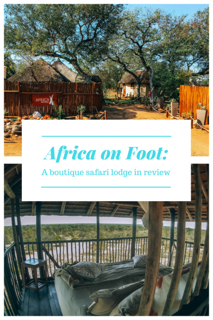 Africa on Foot - a boutique safari lodge in review