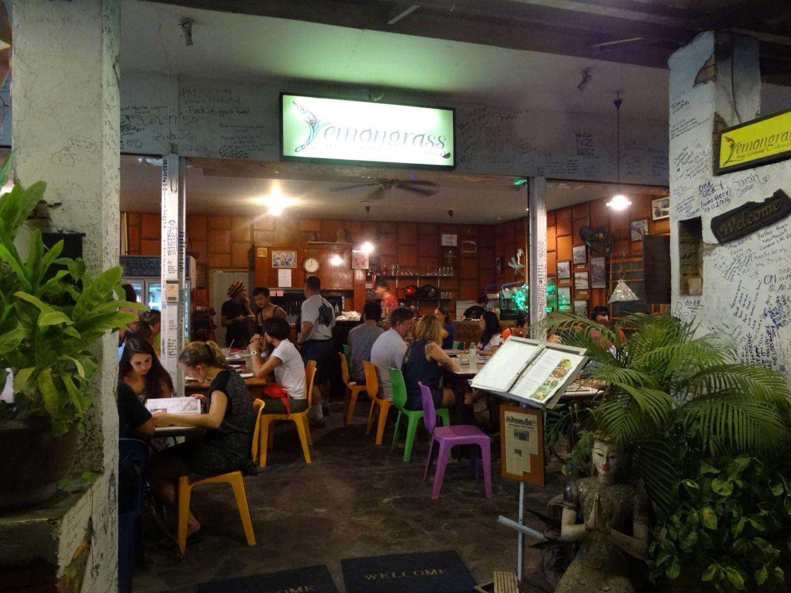 Lemongrass restaurant Chiang Mai
