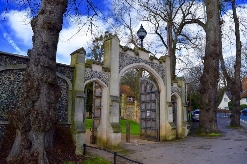 Caversham Court Gardens, Reading