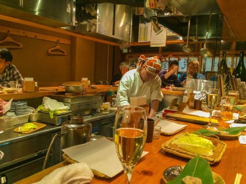 Tempura restaurant, Tokyo