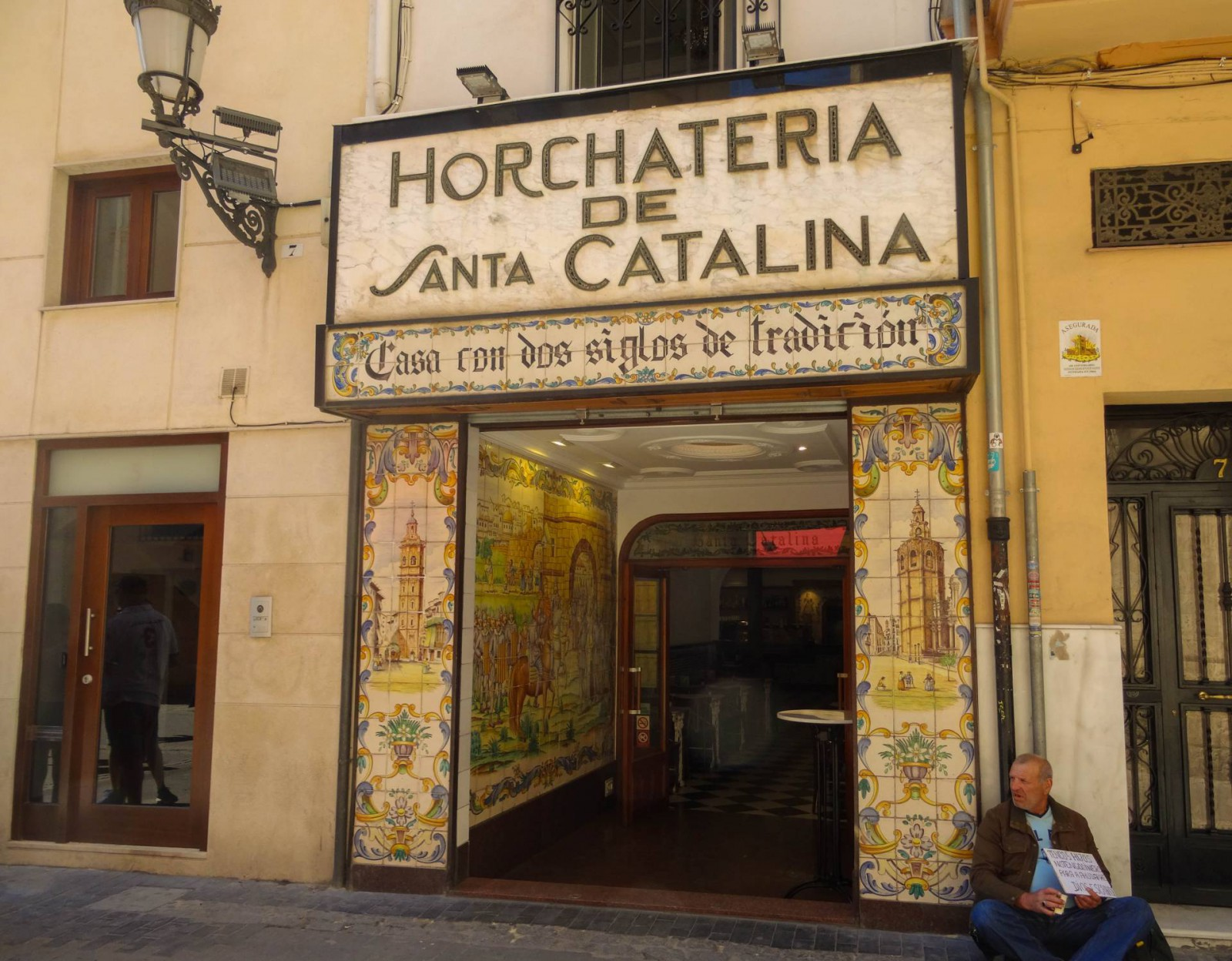 Horchateria de Santa Catalina, Valencia