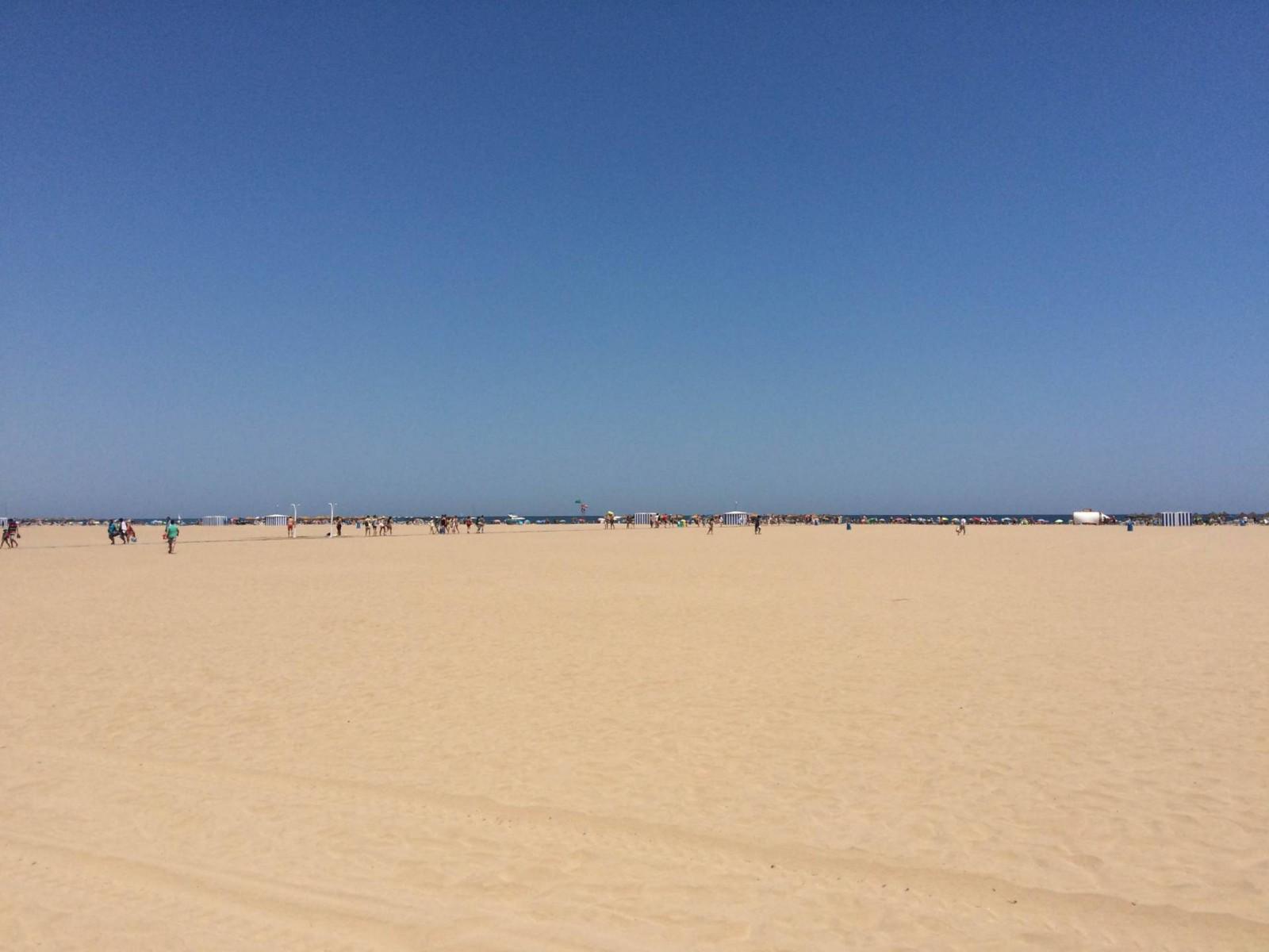 La Malvarossa beach, Valencia