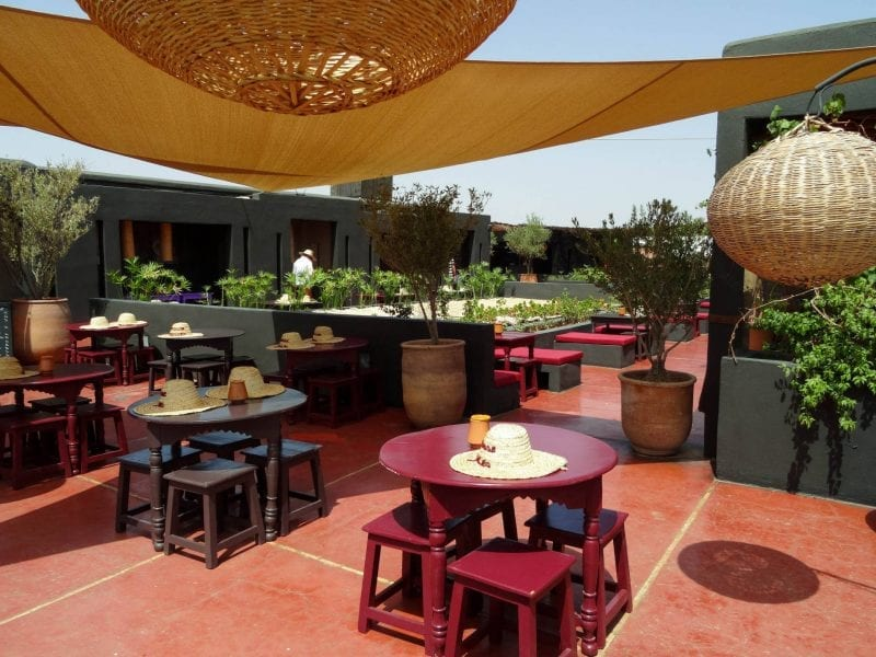 Where to eat in Marrakech: Terrasse des Epices