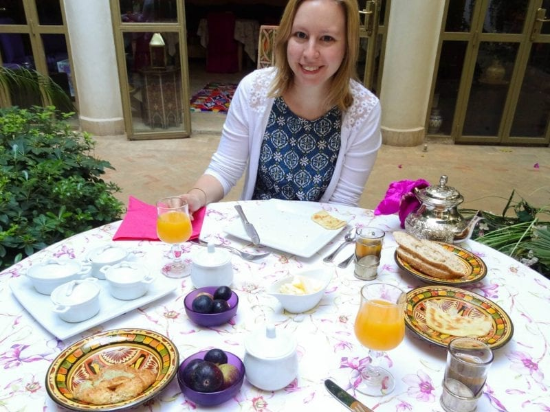 Where to eat in Marrakech: Your riad!