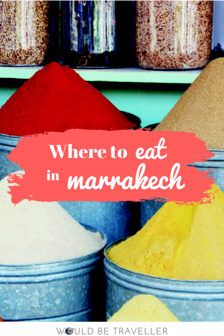 Where to eat in Marrakech
