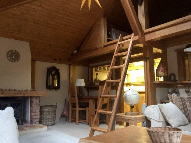 Weekend in a log cabin, Berkhamsted