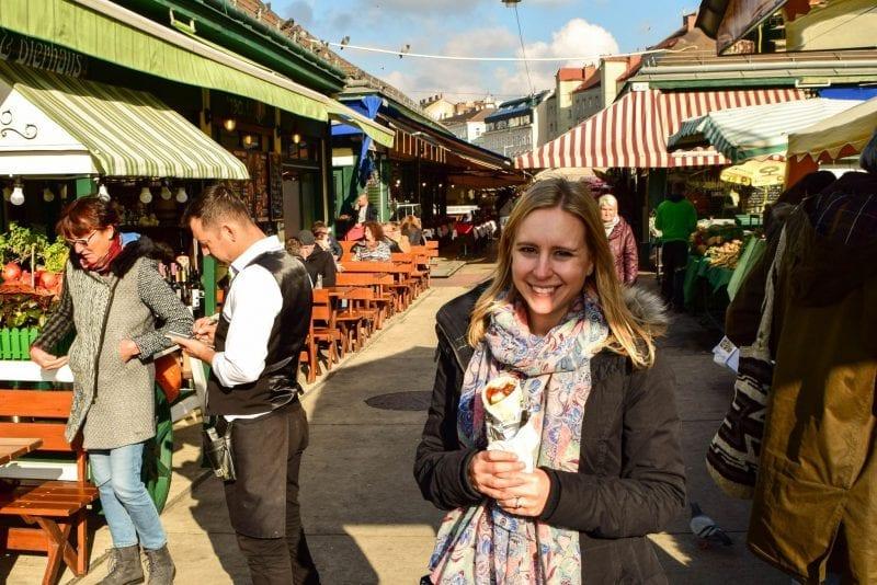 Where to eat in Vienna as a vegetarian: Naschmarkt
