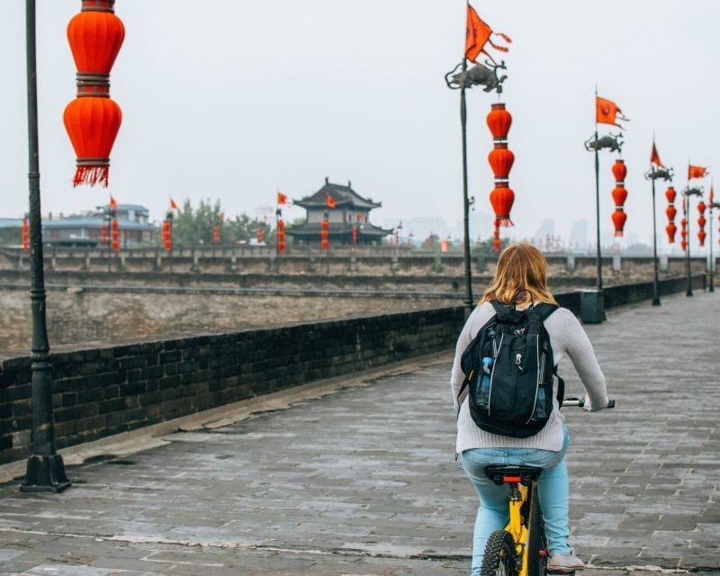 Would Be Traveller - Bike Rides in China
