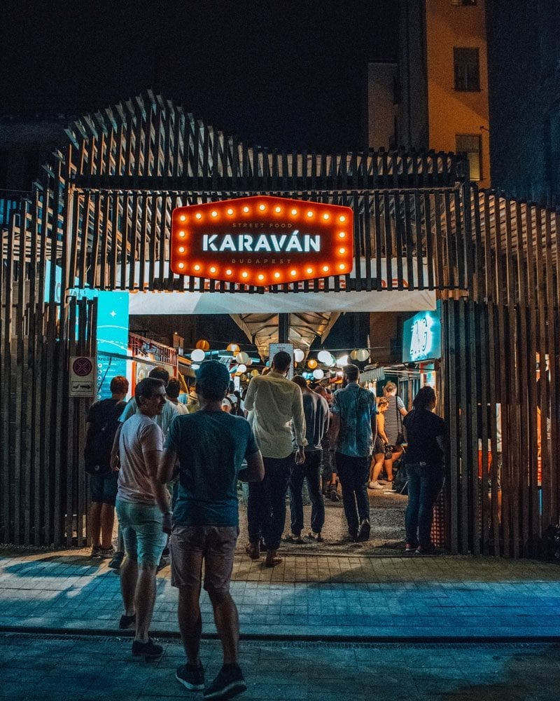 Would Be Traveller - Budapest Karavan Street Food