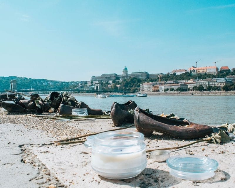 Would Be Traveller - Budapest Shoes on the Danube
