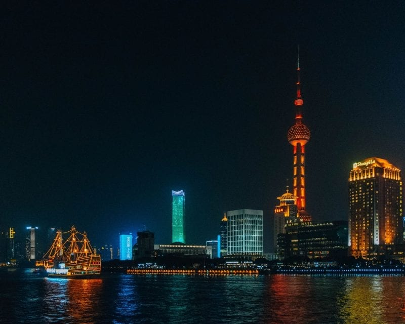 Would Be Traveller - Shanghai Skyline