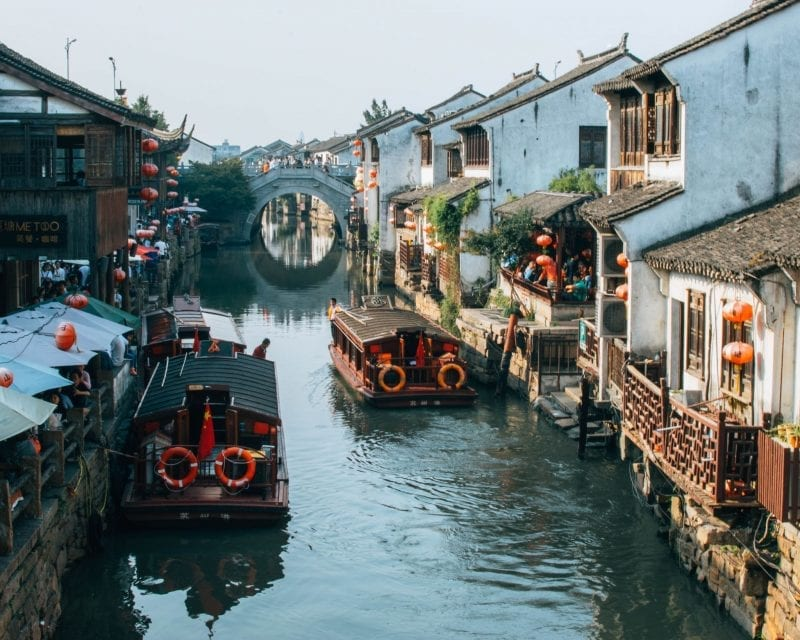 Would Be Traveller - Suzhou Canal