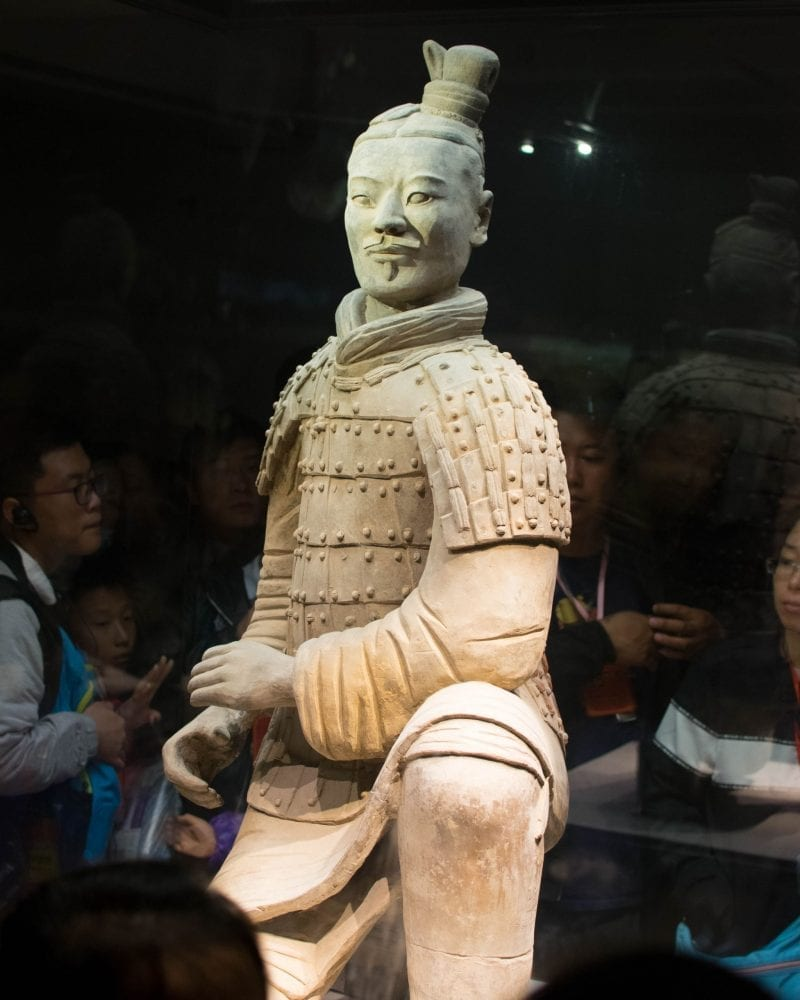 Would Be Traveller - Terracotta Warriors Workshop