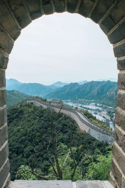 Would Be Traveller - The Great Wall of China Frame