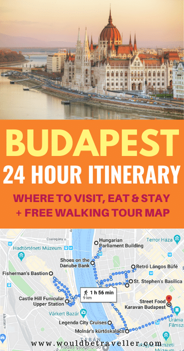 24 hours in Budapest pin