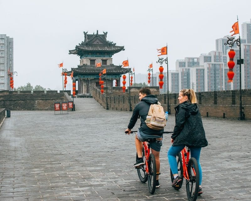 Would Be Traveller - The Most Instagrammable Places in China - Xian City Wall