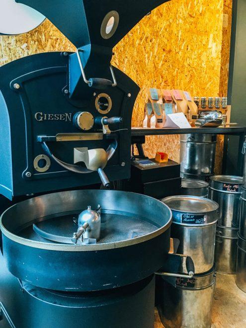 Would Be Traveller Vegetarian food in Hamburg Nord Coast Roastery Coffee