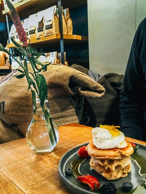 Would Be Traveller Vegetarian food in Hamburg Nord Coast Roastery Breakfast