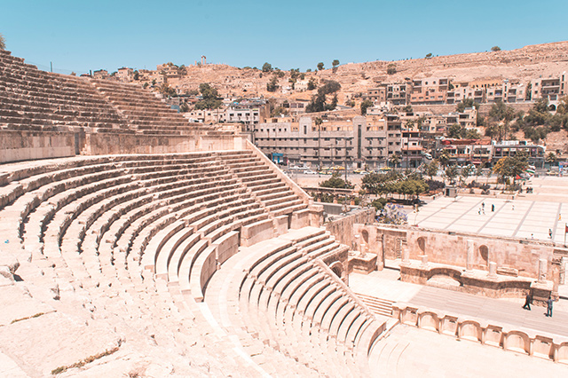 Would Be Traveller 1 Week in Jordan Amman Roman Citadel