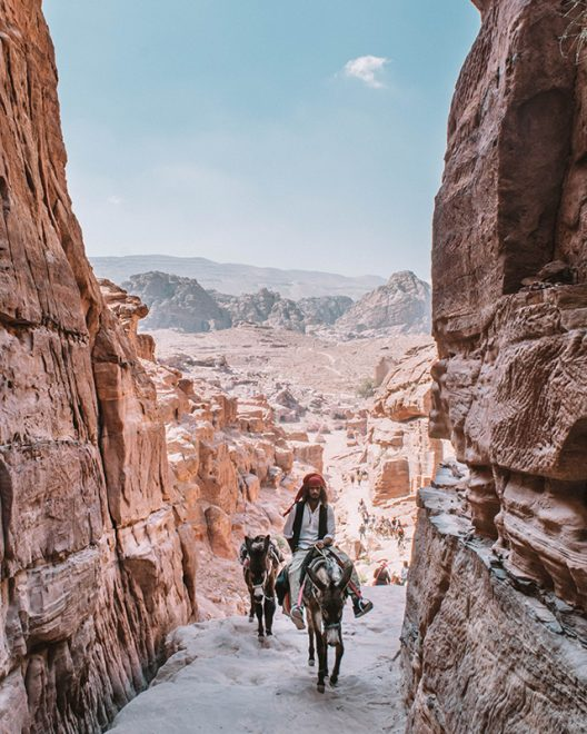 Would Be Traveller 1 Week in Jordan Riding Animals