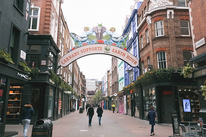 Would Be Traveller Soho Carnaby Street
