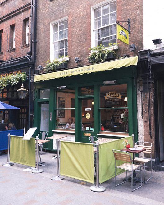 Would Be Traveller Soho Mother Mash Exterior