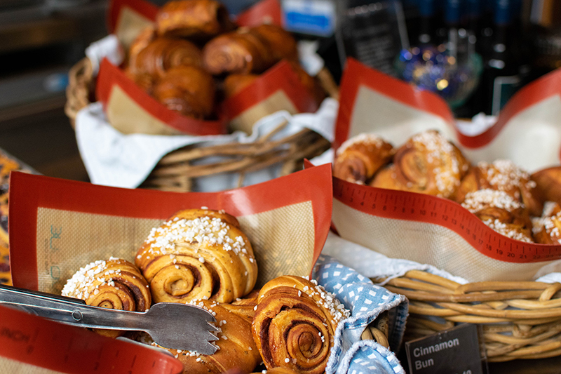 Would Be Traveller Soho Nordic Bakery Cinnamon Buns