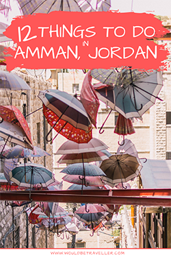 Would Be Traveller Things to do in Amman