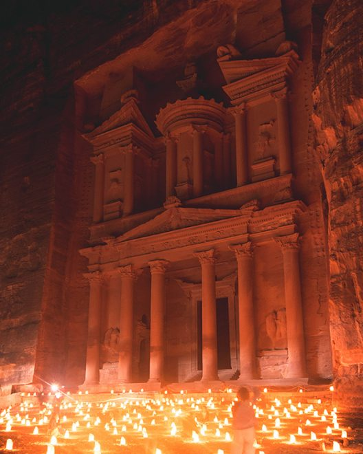Would Be Traveller Visiting Jordan during Ramadan Petra at night