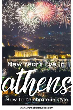 Would Be Traveller New Year's Eve in Athens