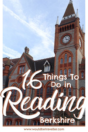 Things to do in Reading pinterest pin
