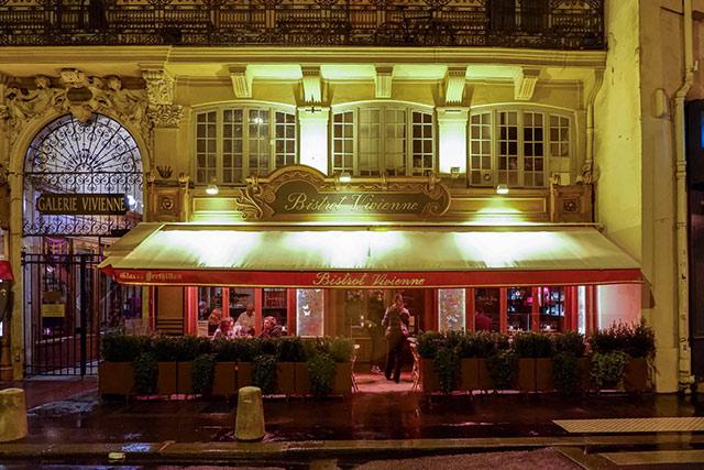 Bistrot Vivienne vegetarian friendly restaurant in Paris