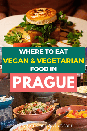 Vegetarian and vegan food in Prague pin