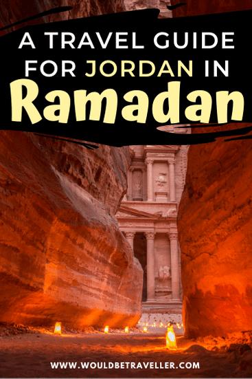 Visiting Jordan in Ramadan pin